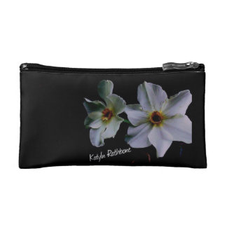 White lies makeup bag
