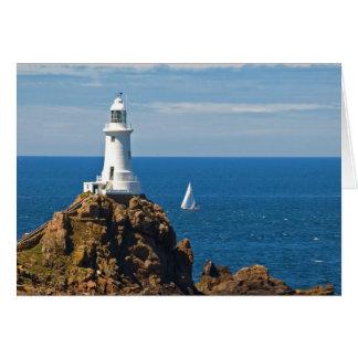 White Lighthouse (Birthday Card) Card
