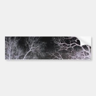 White lightning bumper sticker