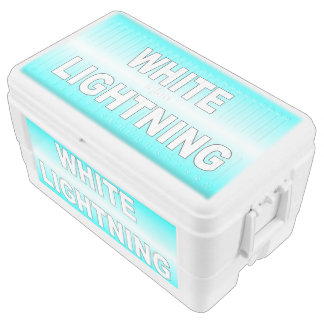 White Lightning Chest Cooler