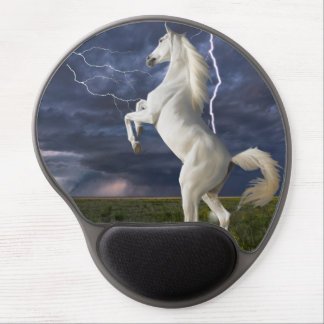 White Lightning Gel Mousepad
