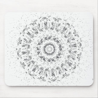 White Lights Mouse Pad