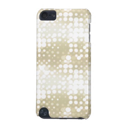 White Lights Polka Dot Pattern iPod Touch 5G Cases