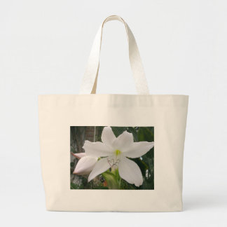White Lily Flower Bags