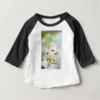 White Lily Flower Fully Open Baby T-Shirt