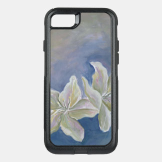 white lily flowers phone case