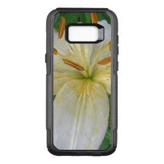 White Lily III OtterBox Commuter Samsung Galaxy S8+ Case