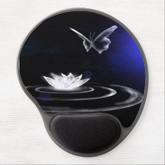 White Lily Magic Ergonomic Mousepad