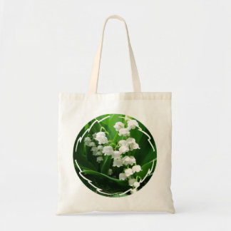 White Lily of the Valley  Small Tote Bag
