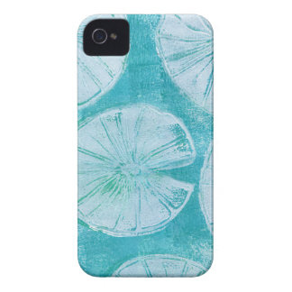 White lily pads iPhone 4 Case-Mate case