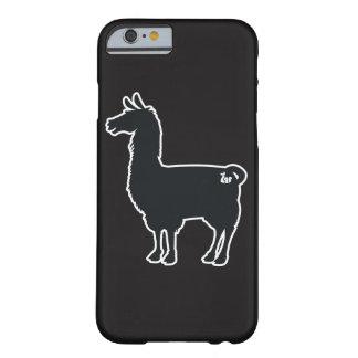 White Line Llama Case