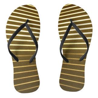 White Lines Flip Flops Thongs
