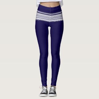 white lines leggings