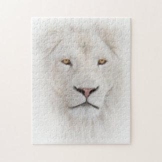 White Lion Head Puzzle