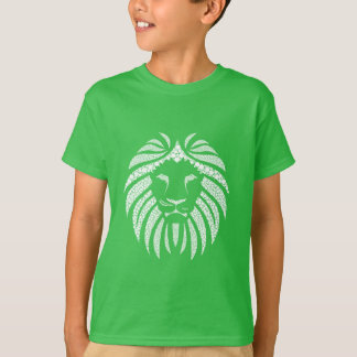 White Lion Head T-Shirt