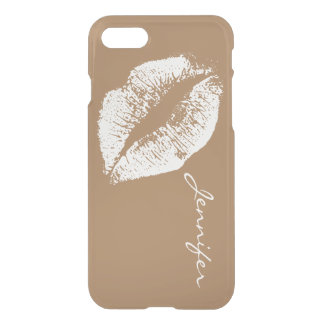 White Lips #20 iPhone 7 Case