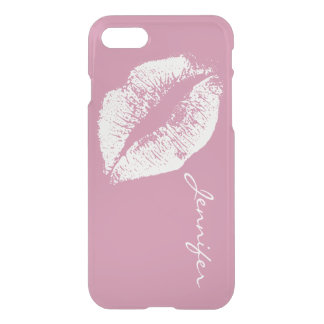 White Lips #5 iPhone 7 Case
