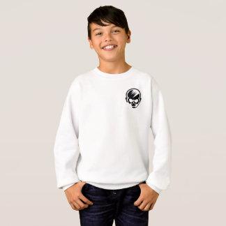 White long sleeve kids gamer shirt! sweatshirt