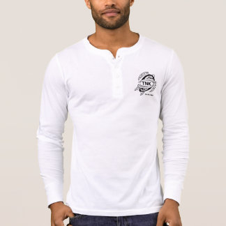 White Long sleeve Samoan Hammerhead T-Shirt