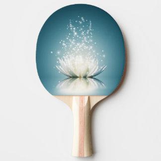 White Lotus Magic Ping Pong Paddle