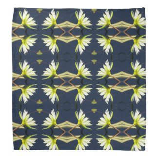 White Lotus Waterlily Bandana