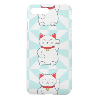 White Lucky Cat iPhone 7 Plus Case