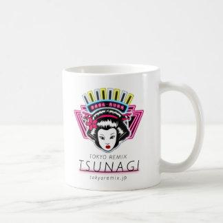 White magnet coffee mug