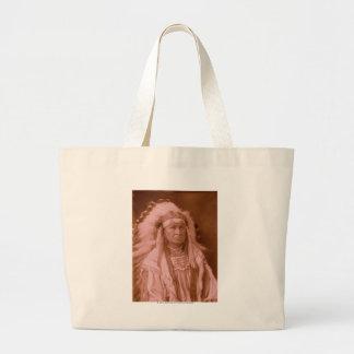White Man Runs Him - Crow Canvas Bag