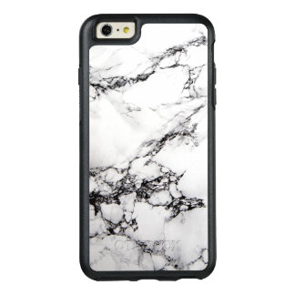 White Marble Beautiful Abstract Texture OtterBox iPhone 6/6s Plus Case