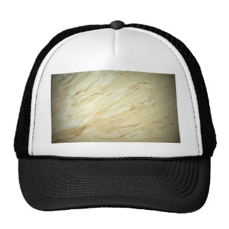 White Marble Faux Finish Trucker Hat