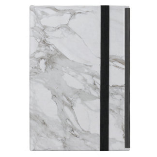 White Marble Ipad Mini Case