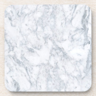 White Marble Look Coaster