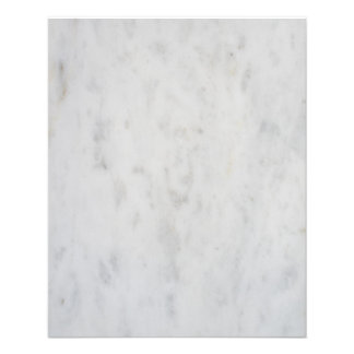 White marble pattern flyer