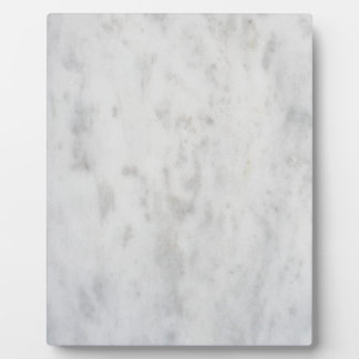 White marble pattern plaque