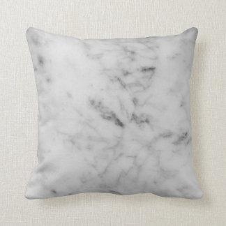 White marble pillow