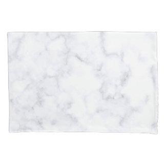 White Marble Pillowcase
