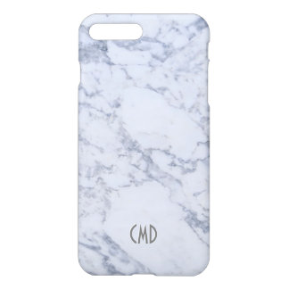 White Marble Stone Look iPhone 7 Plus Case