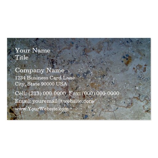 White Marble Texture Business Card Templates