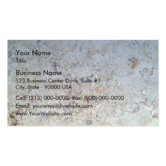 White Marble Texture Pack Of Standard Business Cards
