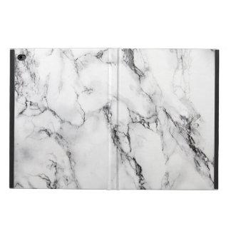 White Marbled Stone Seamless Pattern