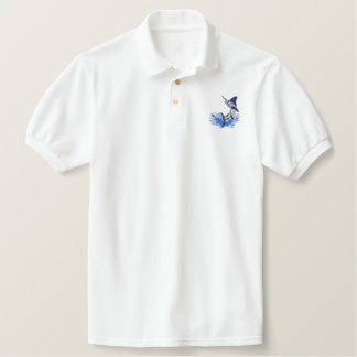 White Marlin Polo Shirts