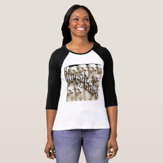 White Meerkat Army Logo, T-Shirt