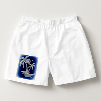 White Men's Boxercraft Cotton Boxers