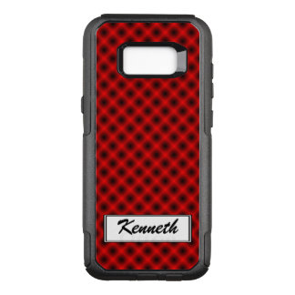 White Mesh Moire (Tintable) by Kenneth Yoncich OtterBox Commuter Samsung Galaxy S8+ Case