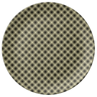 White Mesh Moire (Tintable) by Kenneth Yoncich Plate