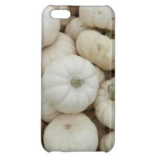 White Mini Pumpkins iPhone 5C Cases