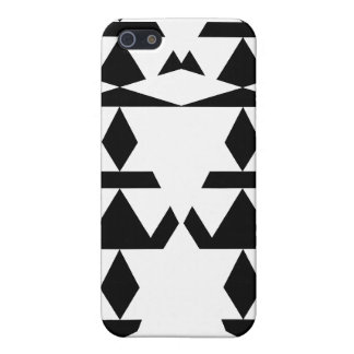 White Minimal Tribal Cases For iPhone 5