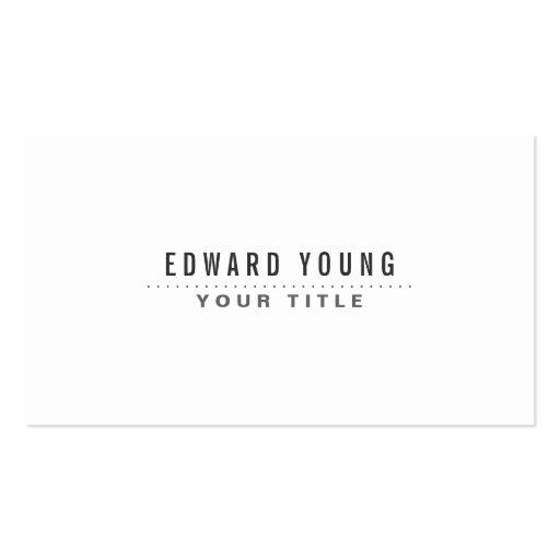 white modern minimalist generic zazzle
