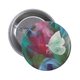 white moth pinback buttons