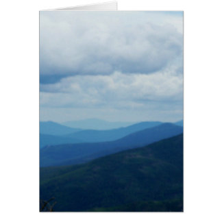 White Mountains Greetying Card